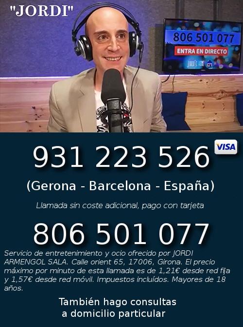 Jordi Tarot Barcelona Consulta